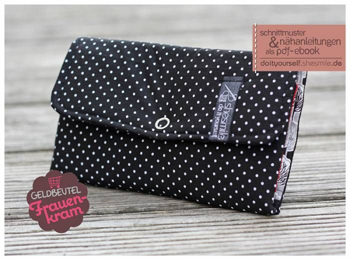 Geldbeutel | schnittmuster Taschen +Geldbörsen | Pinterest | Nähen ...