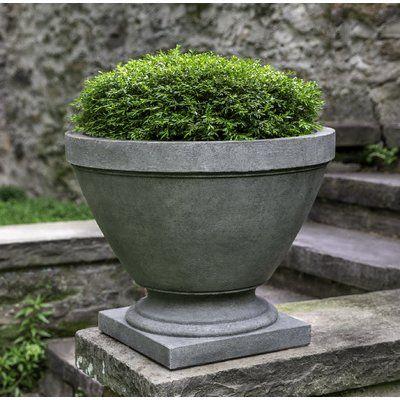 Canora Grey Jodie Urn Concrete Pot Planter Colour Rustico Nuovo In 2020 Concrete Pots Stone Planters Planters