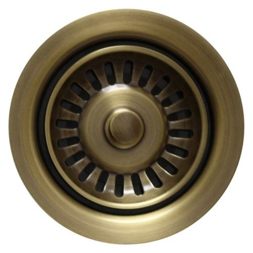 Whitehaus WH200-AB Waste Disposer, Antique Brass