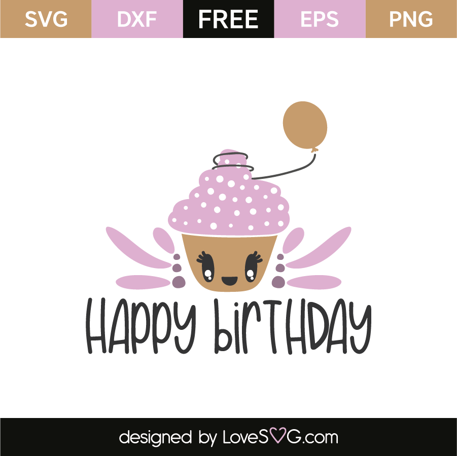 Download Happy birthday | Cricut birthday cards, Free stencils ...