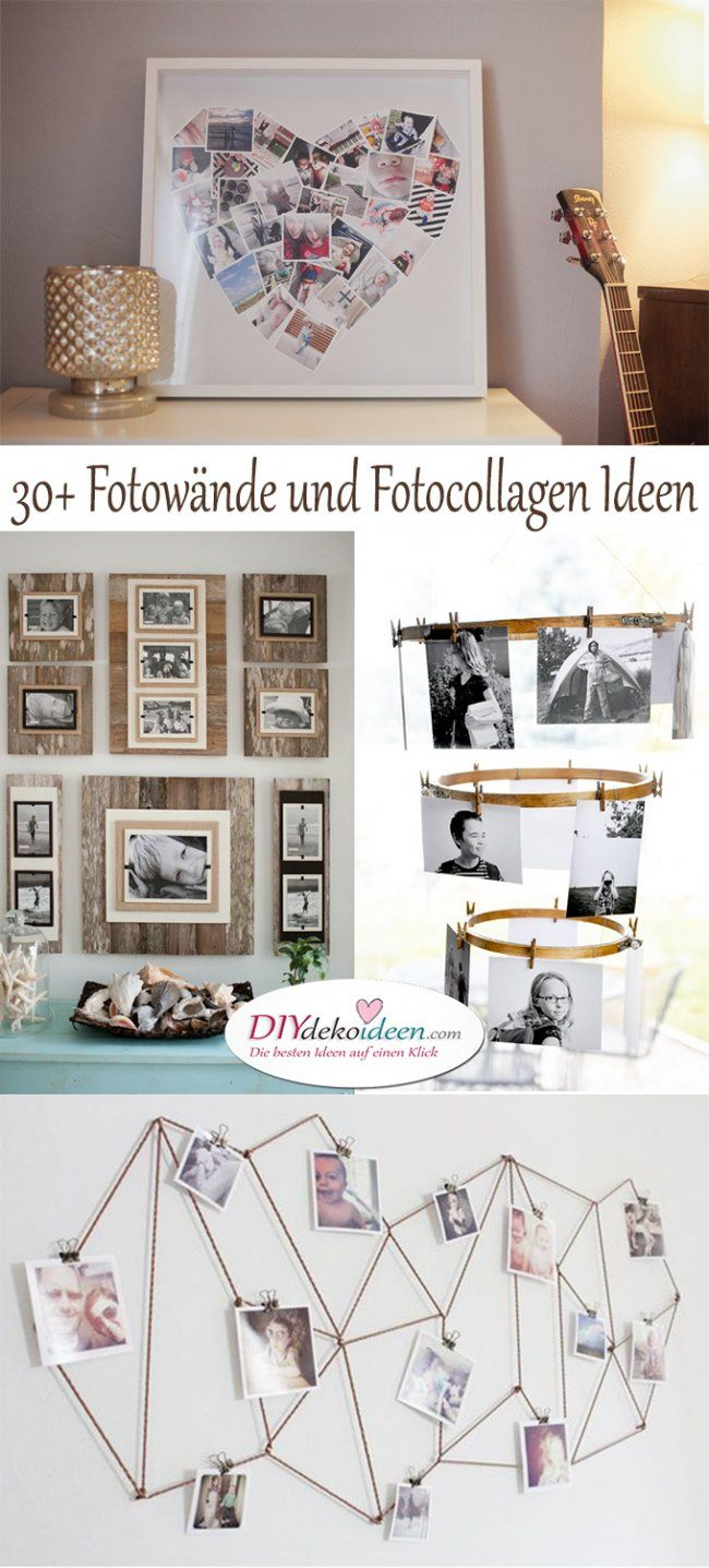 Fotow nde und fotocollagen ideen mit denen du dein heim for Lesezimmer einrichten ideen