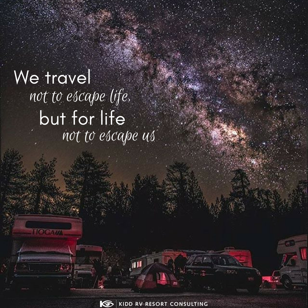 Rv Rving Camping Travel Qoute Saying Escape Opensky Stars Us Travel Travel Resort