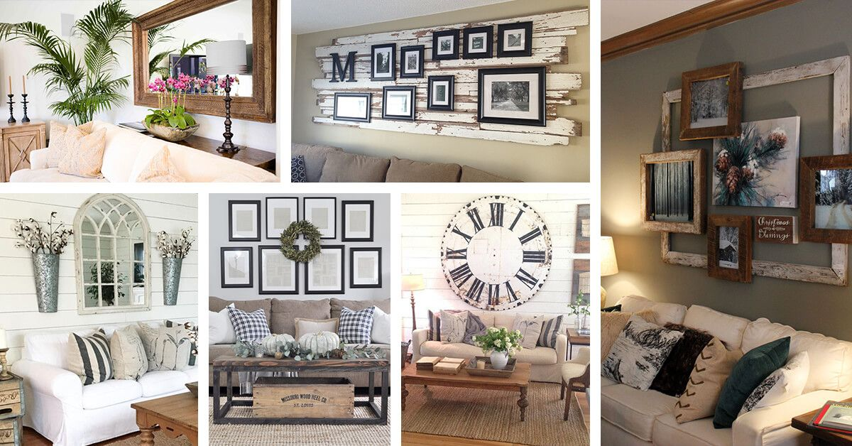 30 creative ideas to decorate above the sofa couch decor on wall art decor id=20919