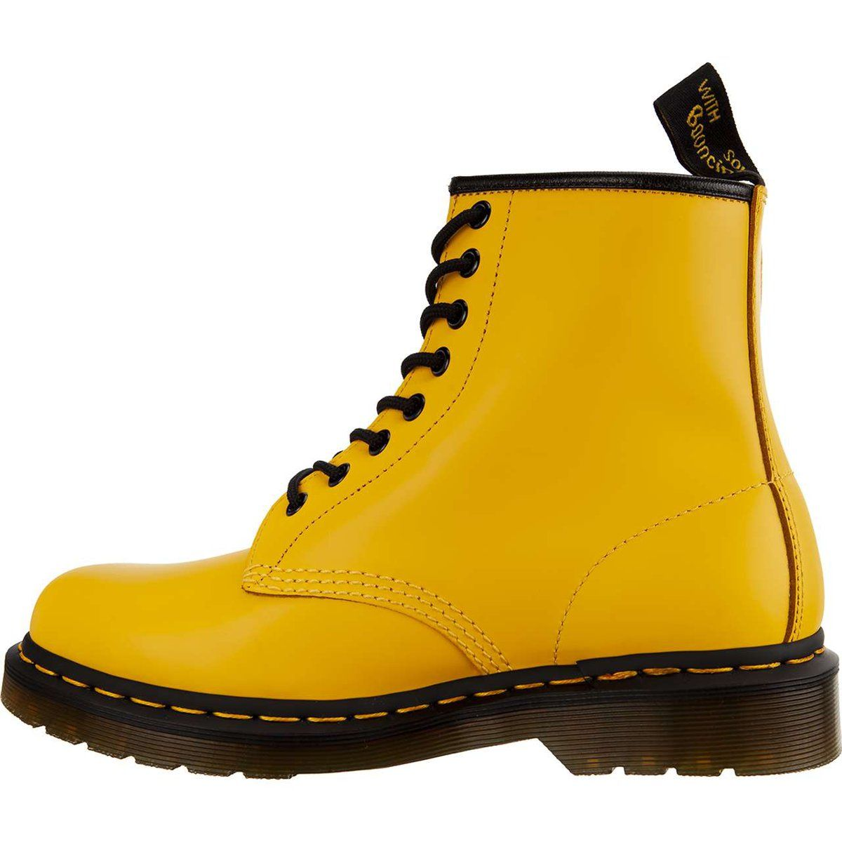 Glany Damskie Drmartens Dr Martens 1460 Smooth Summer Icons Yellow Dr Martens Yellow Dr Martens Combat Boots
