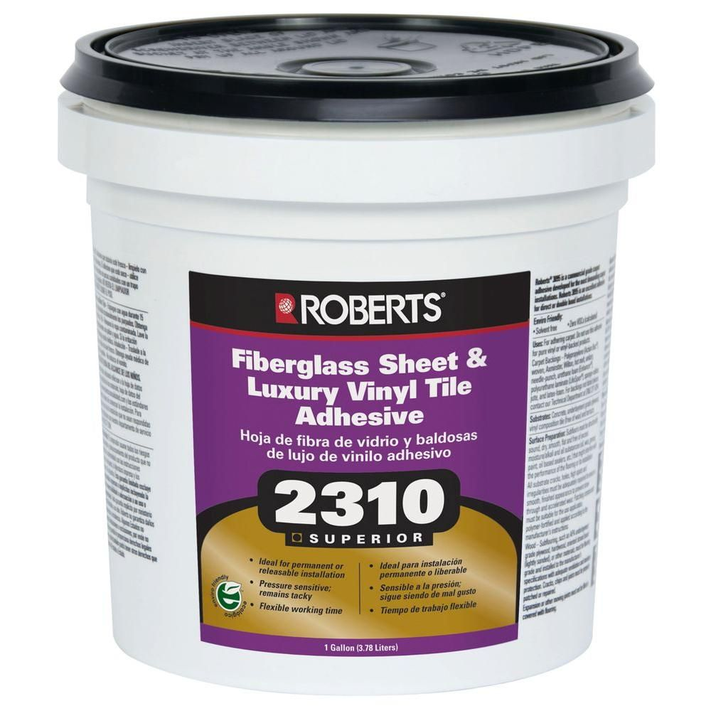 Roberts 2310 1 gal premium fiberglass and luxury vinyl tile glue premium fiberglass and luxury vinyl tile glue adhesive dailygadgetfo Images