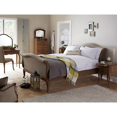 Popular Buy John Lewis Etienne Sleigh Bedstead Super Kingsize line at johnlewis New Design - New bedstead Model