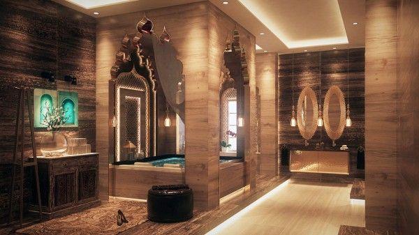 salle bain de luxe orientale maghribain Teen girl\u0027s bedroom