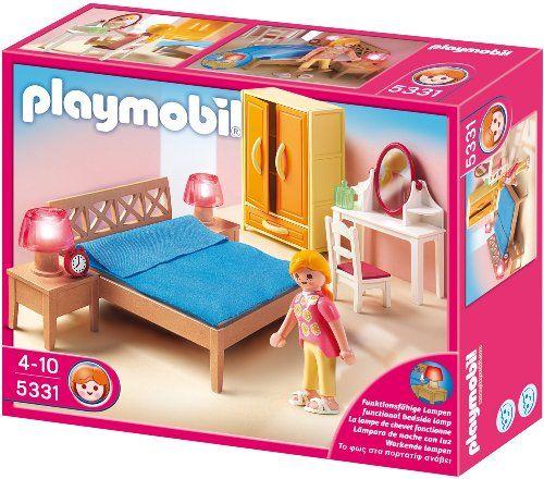 Playmobil 5331 Elternschlafzimmer Material Kunststoff Abmessungen 20 X 10 X 15 Cm Geschlecht Madchen Und Jungen Z Playmobil Playmobil Haus Play Mobile