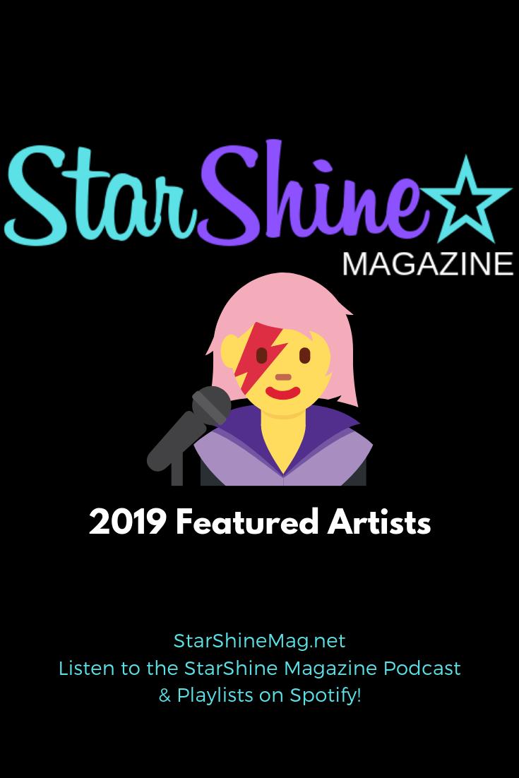 StarShine Magazine 2019 Featured Artists Playlist
