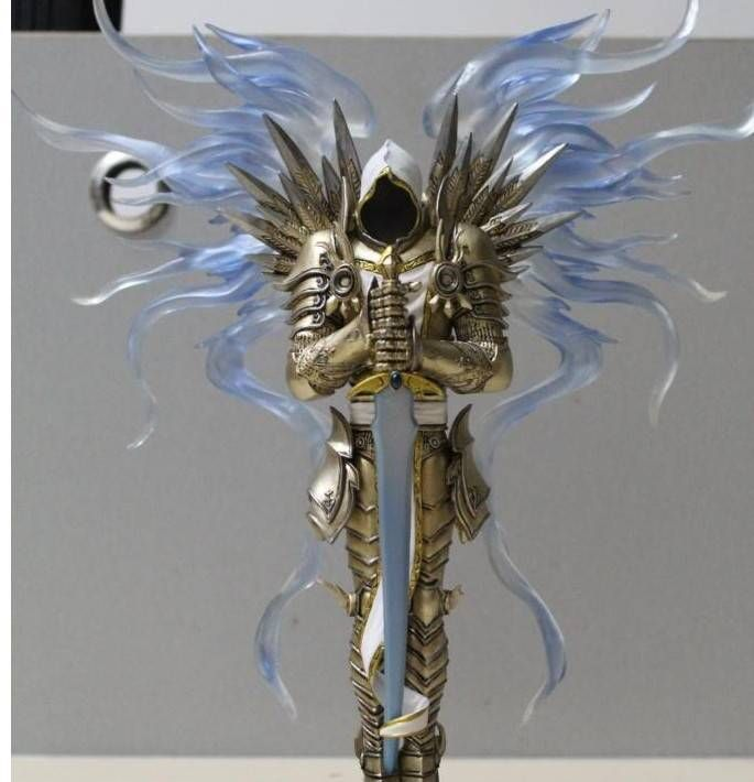 1 8 diablo 3 archangel tyrael figurine pre painted figure statue toy collectible