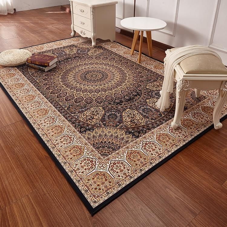 Persian Style Carpets For Living Room Luxurious Bedroom Rugs And Carpets Classic Turkey Study Floor Mat Coffee Table Area Rug In 2021 Classic Carpets Rugs On Carpet Living Room Carpet