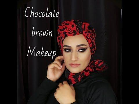 Brown Smokey Makeup With Cat Eye اميره المبارك ومكياج سموكي برونزي مع ايلينر Brown Makeup Makeup Makeup Artist