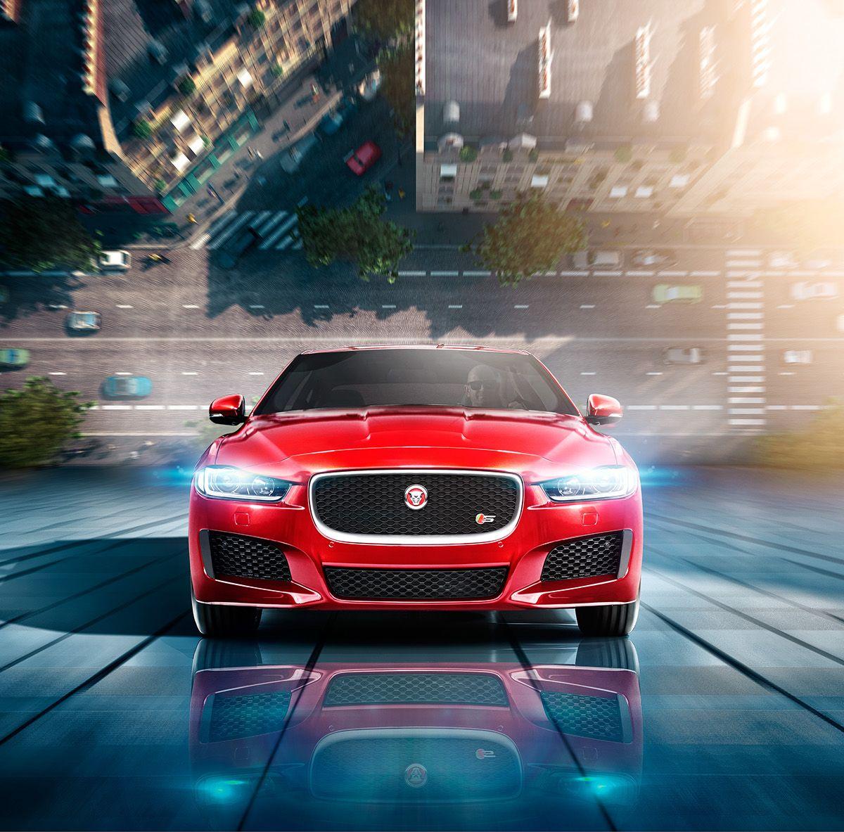 Jaguar XE on Behance