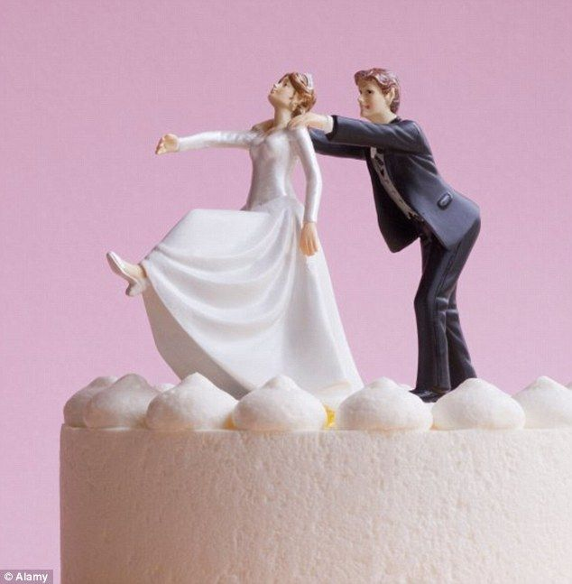Are these the most inappropriate wedding cake toppers Bizarre
