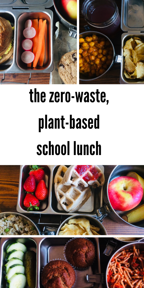 Lunch Box Inspiration Zero Waste Nut Free Plant Based