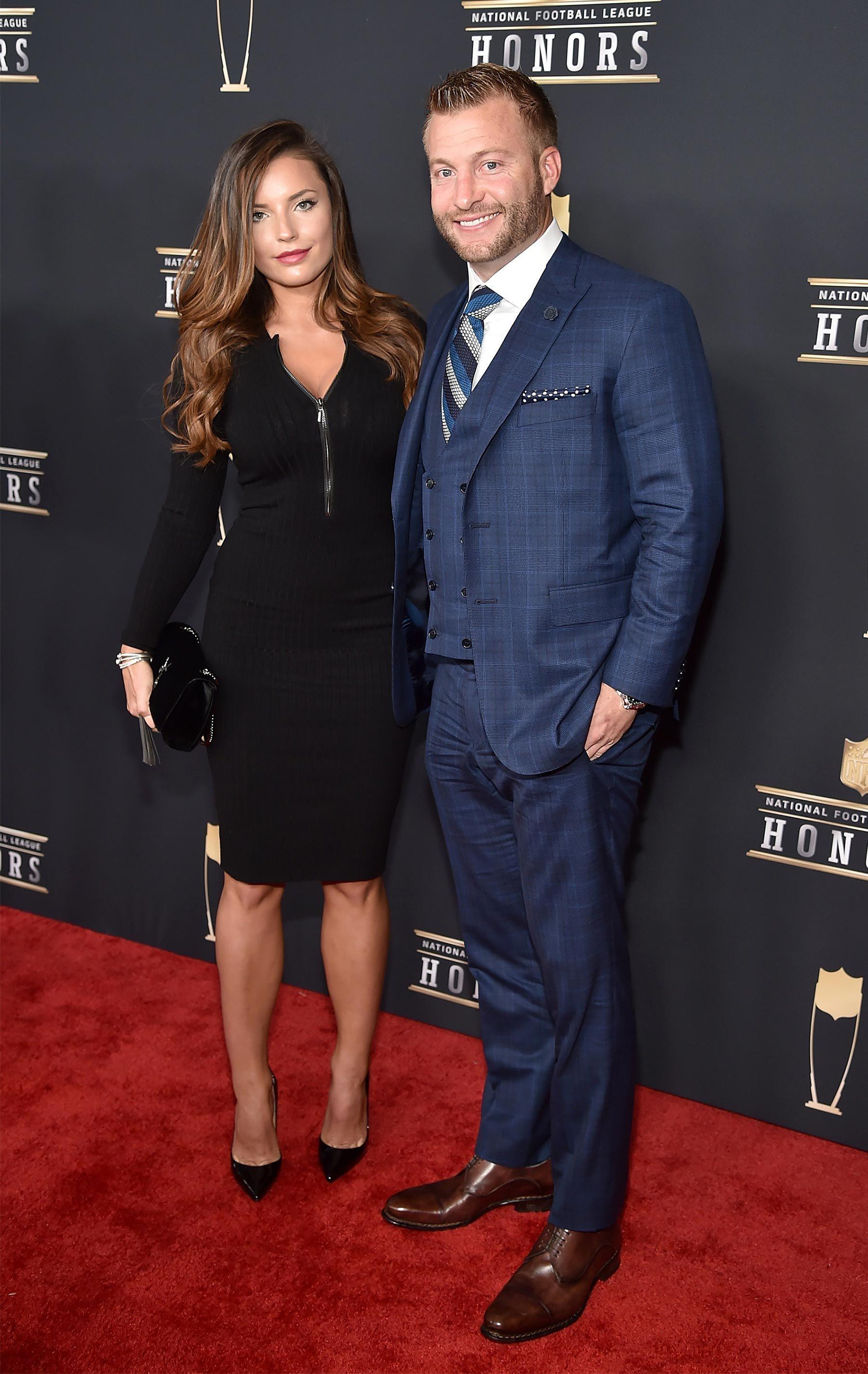 Los Angeles Rams Coach Sean Mcvay Engaged To Model Girlfriend Veronika Khomyn Sean Mcvay Nfl Coaches Model