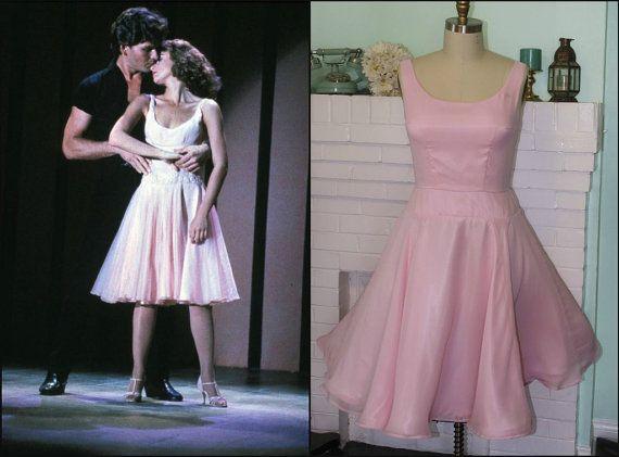 c6e8b3719fa9 Dirty Dancing Dress- Light Pink Chiffon-Custom Sized on Etsy ...