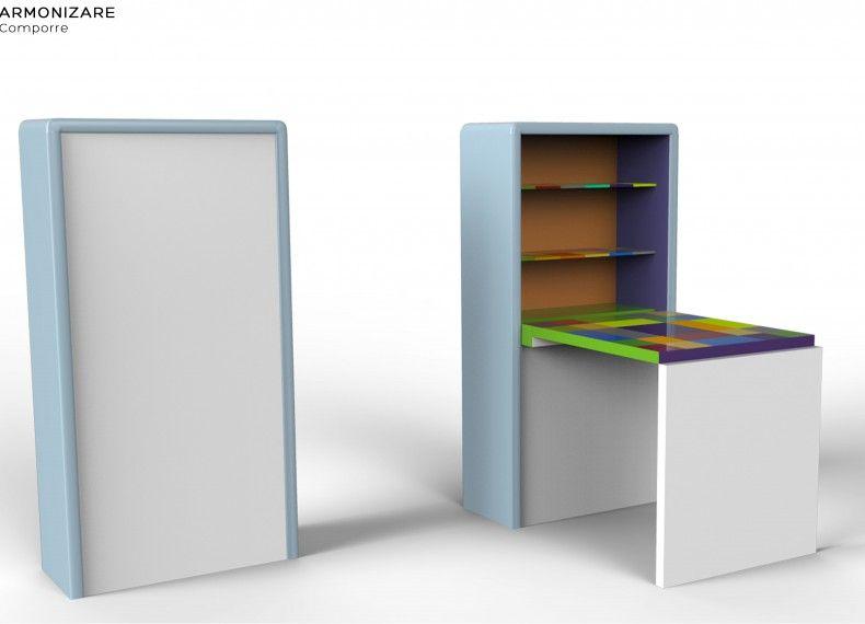 Formabilio cabinette mobile scrivania progetto inviato - Mobile da scrivania ...