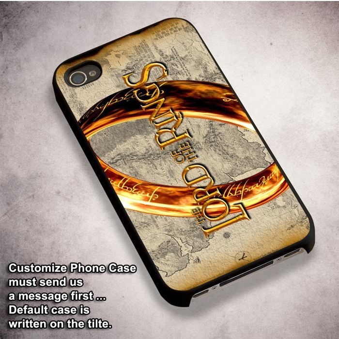 one ring - For iPhone 4/ 4S/ 5/ 5S/ 5SE/ 5C/ 6/ 6S/ 6 PLUS/ 6S PLUS/ 7/ 7 PLUS Case And Samsung Galaxy Case