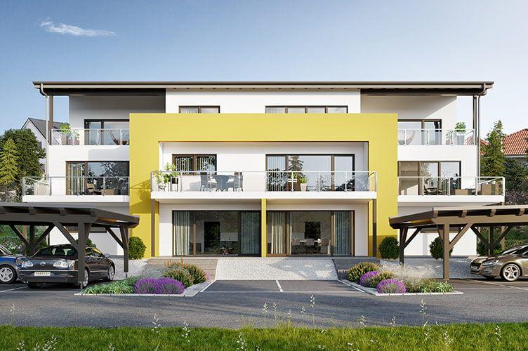 HausBild von Marina auf Grundriss Mehrfamilienhaus in