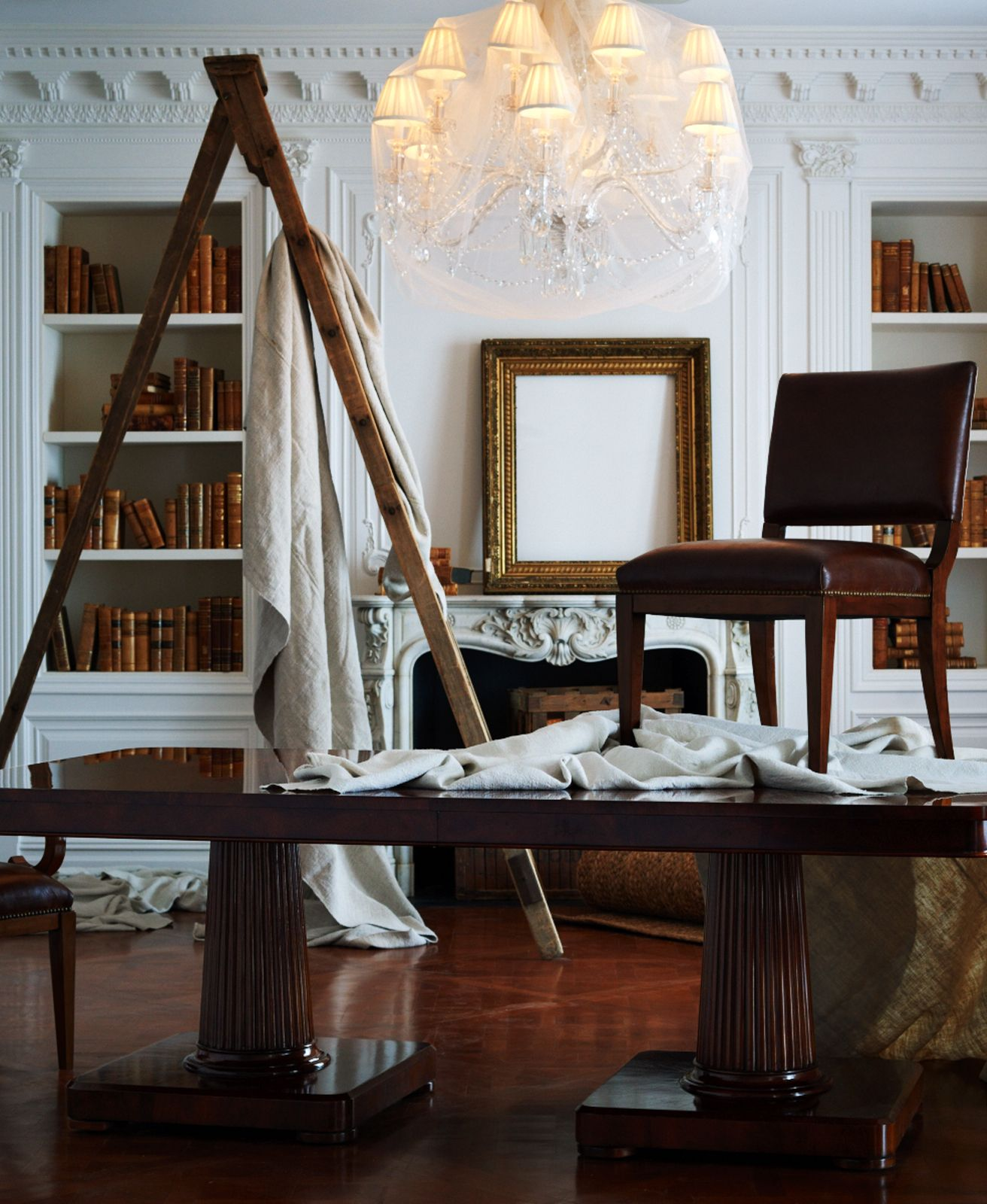 Classic, traditional decor icons from Ralph Lauren Home: Mayfair ...