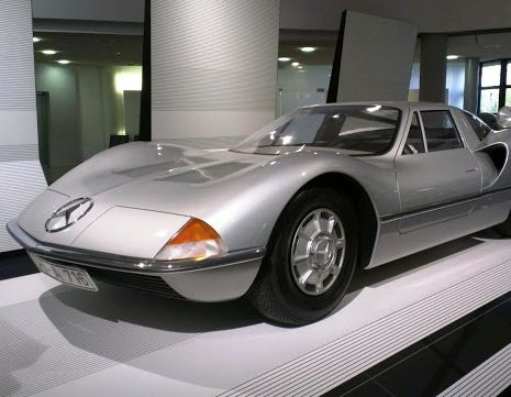 "specialcar: "" Mercedes C111 design study by Bruno Sacco """