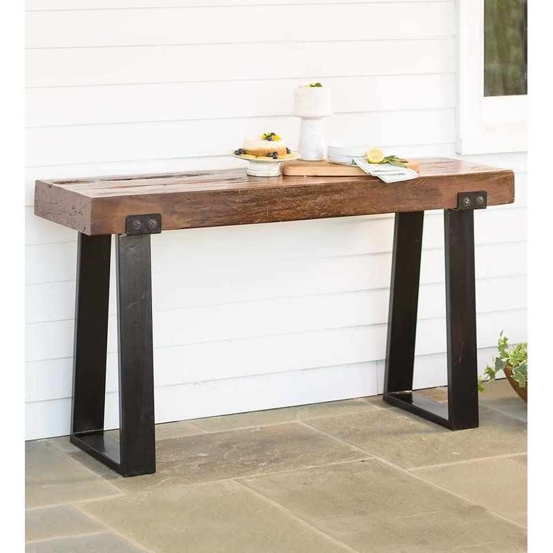 Richland Outdoor Console Table Outdoor Console Table Outdoor
