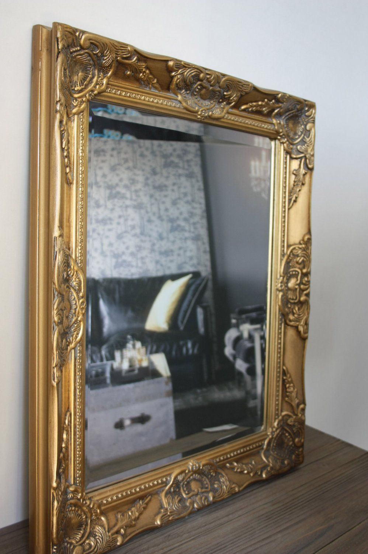 Spiegel Wandspiegel Barock Gold Antik Holz Landhaus Cottage Patina Badspiegel Amazon De Kuche Haushalt Badspiegel Spiegel Wandspiegel