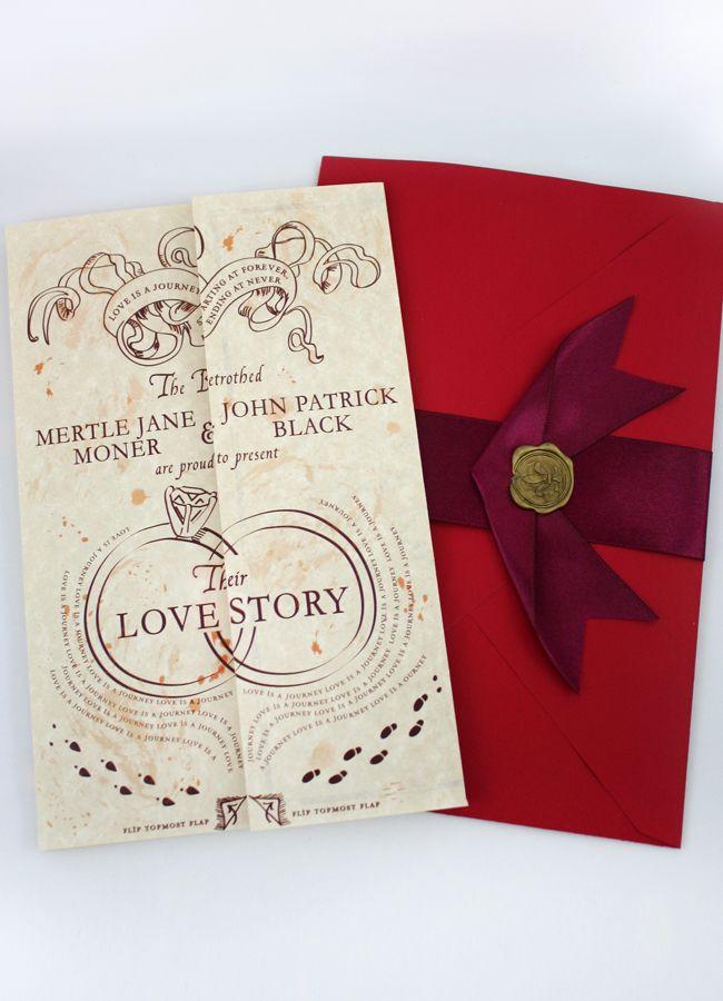 Harry Potter Wedding Invites - OMG @Jasmine Colebrooke @Anna Mniszko ...