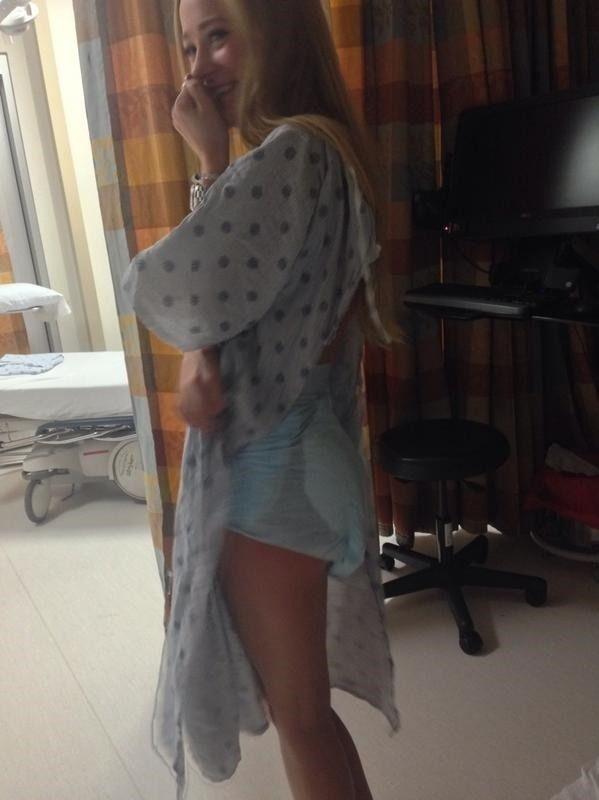 I am wearing a diaper