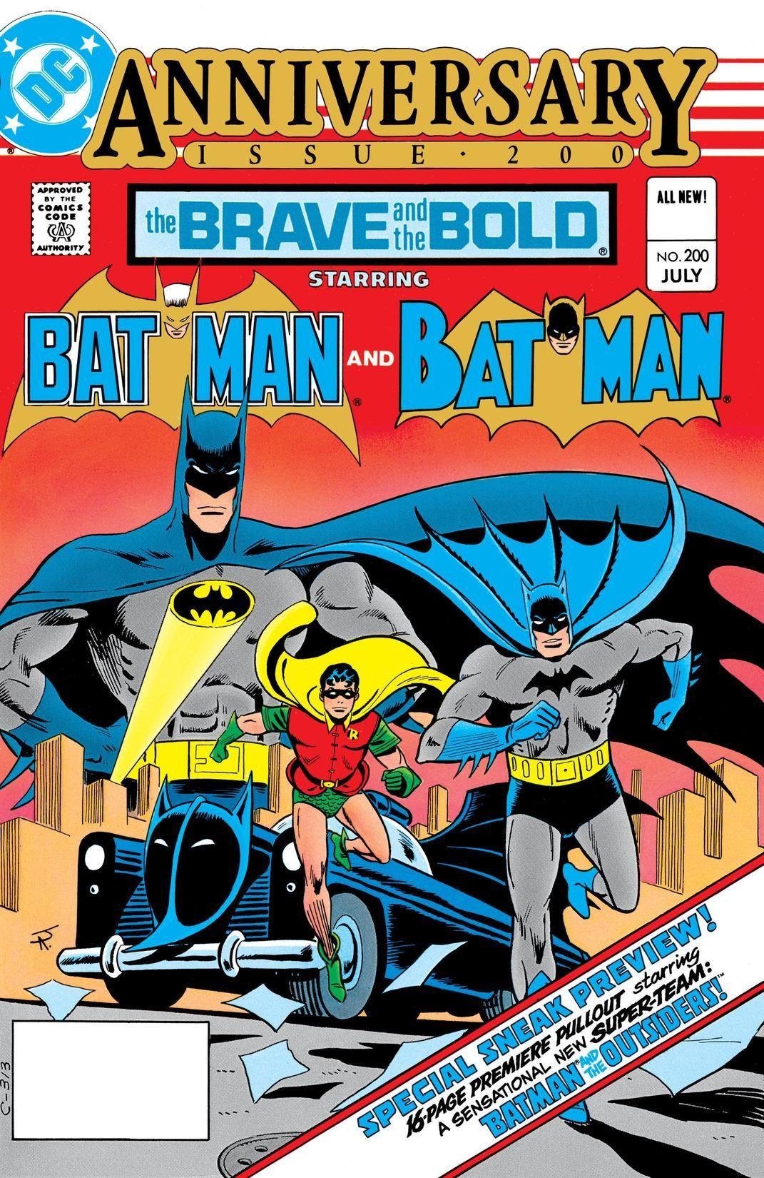 The Brave And The Bold 1955 1983 200 Batman Comic Books