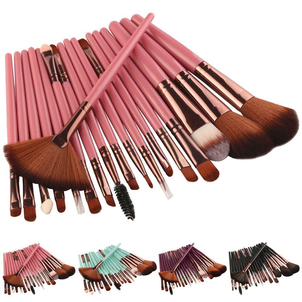 New Professional 18PCS/Set Makeup Brush Set Tools Women's