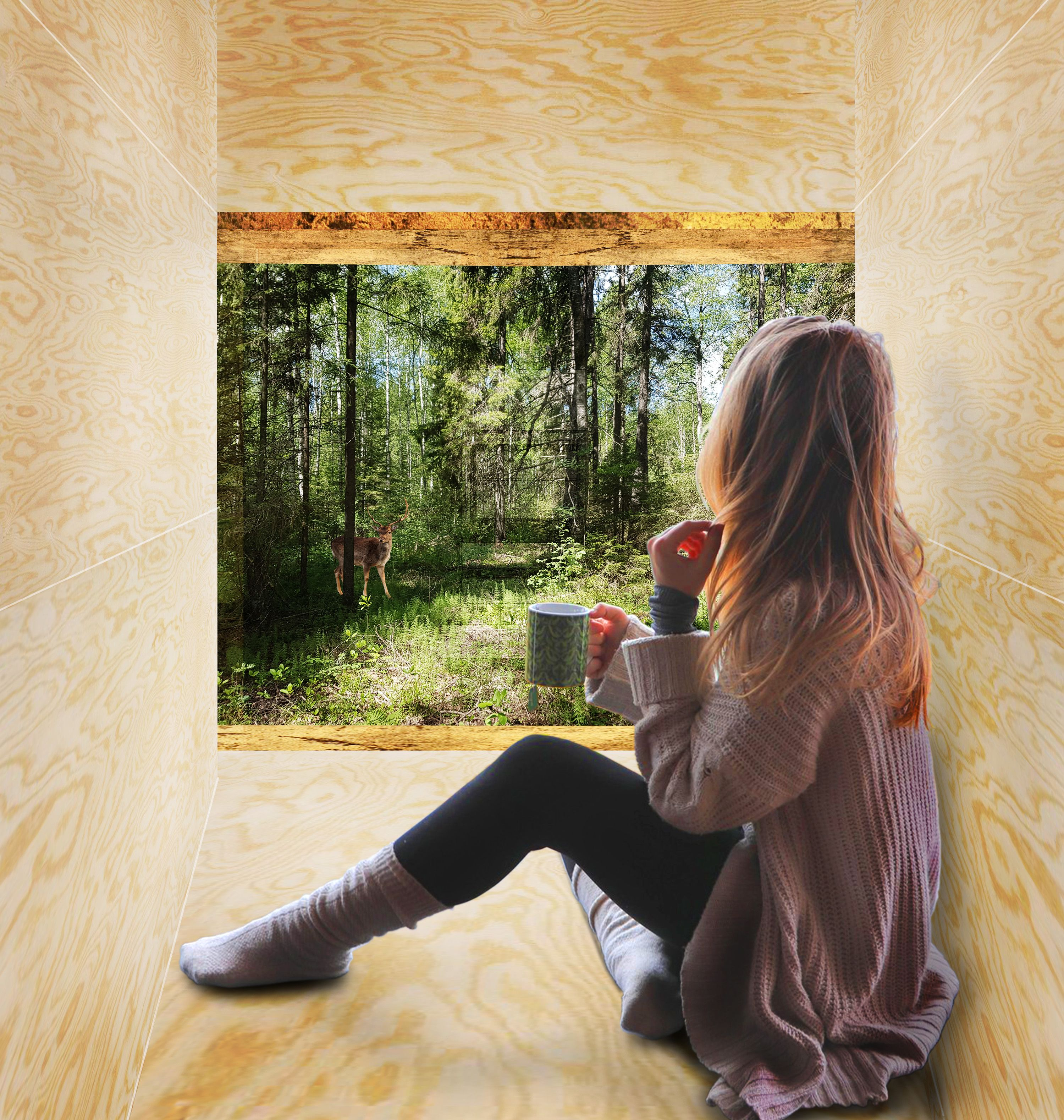 Silent meditation cabin - Studio TMOJ | Cabin, Cabins in ...