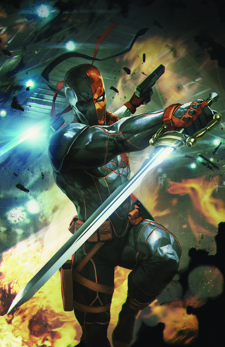 Deathstroke Artwork Board games Board games   Deathstroke artwork, Deathstroke cosplay, Deathstroke