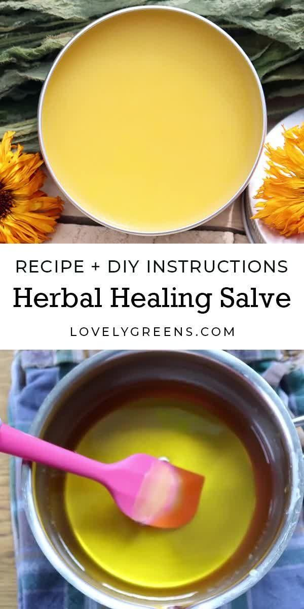 Healing Salve Recipe + DIY Instructions