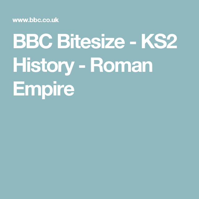Bbc bitesize ks2 history roman empire rome pinterest bbc bitesize national 4 biology the human ear video urtaz Image collections
