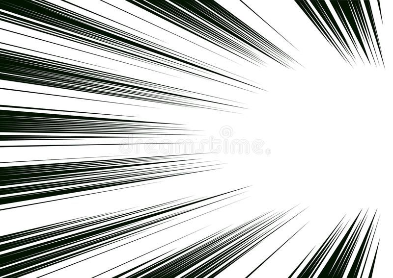 Illustration About Comic And Manga Books Speed Lines Background Superhero Action Explosion Background Black And Whi In 2020 Background Screentone Manga Illustration