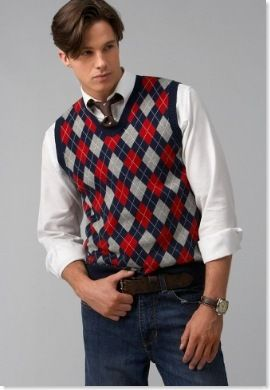What if the groomsmen wear sweater vests? Of course they would ...
