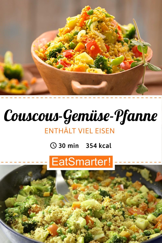 Couscous-Gemüse-Pfanne #vegetariandish
