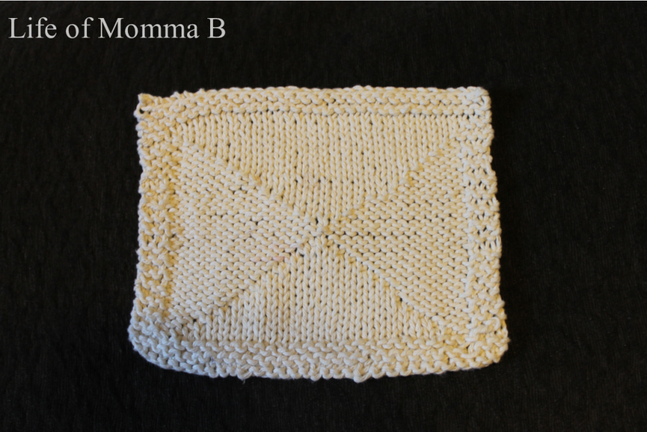 1 of 12 knitted dish clothes