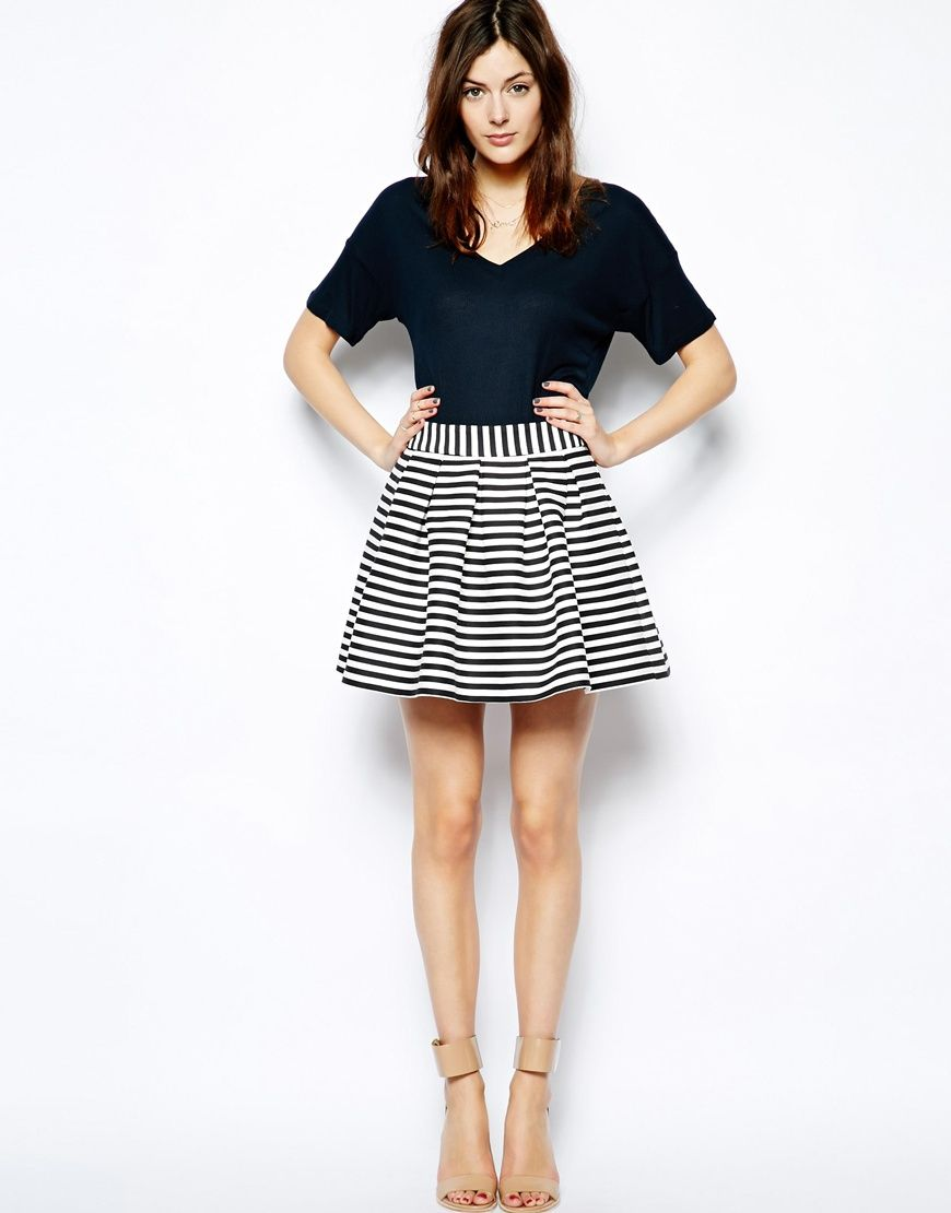 17 best images about Black and White Skirt on Pinterest | ASOS ...
