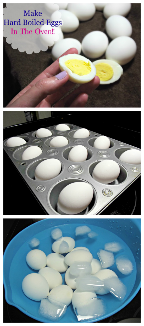 How to Make Hard Boiled Eggs In the Oven!!