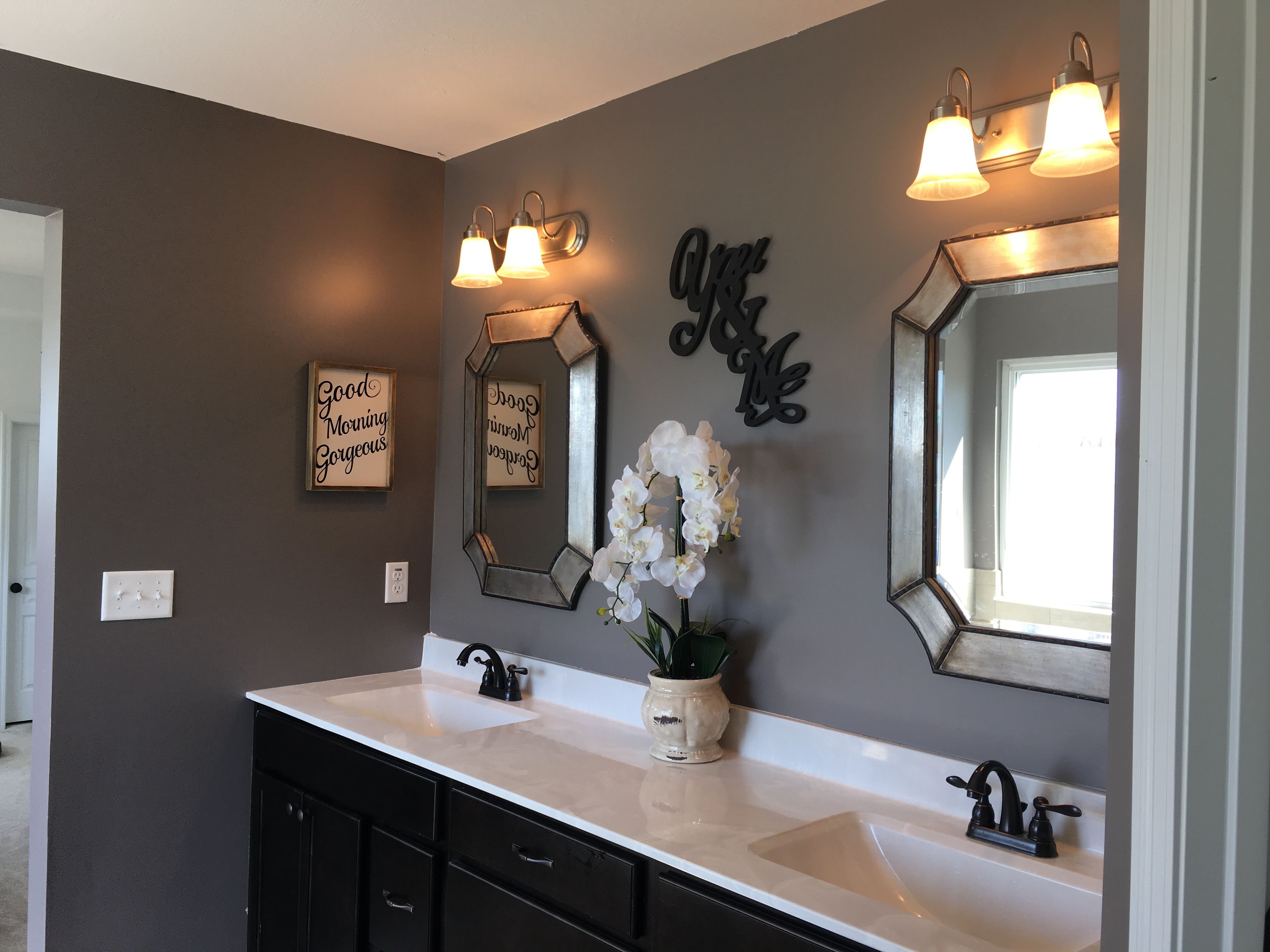 Sherwin Williams Mink bathroom  Paint Colors Ideas in