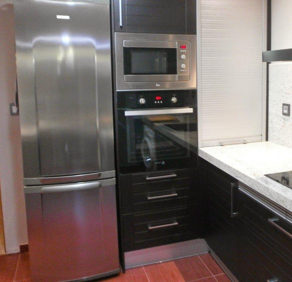 C Mo Solucionar Peque Os Problemas Al Proyectar La Cocina  # Muebles Pequenos Para Cocina