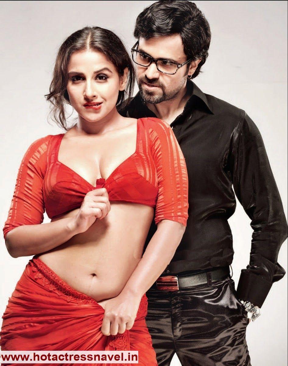 Vidya Balan Navel Exposure In Dirty Picture  Navel - Belly Button - Hip  Vidya Balan Hot -4969