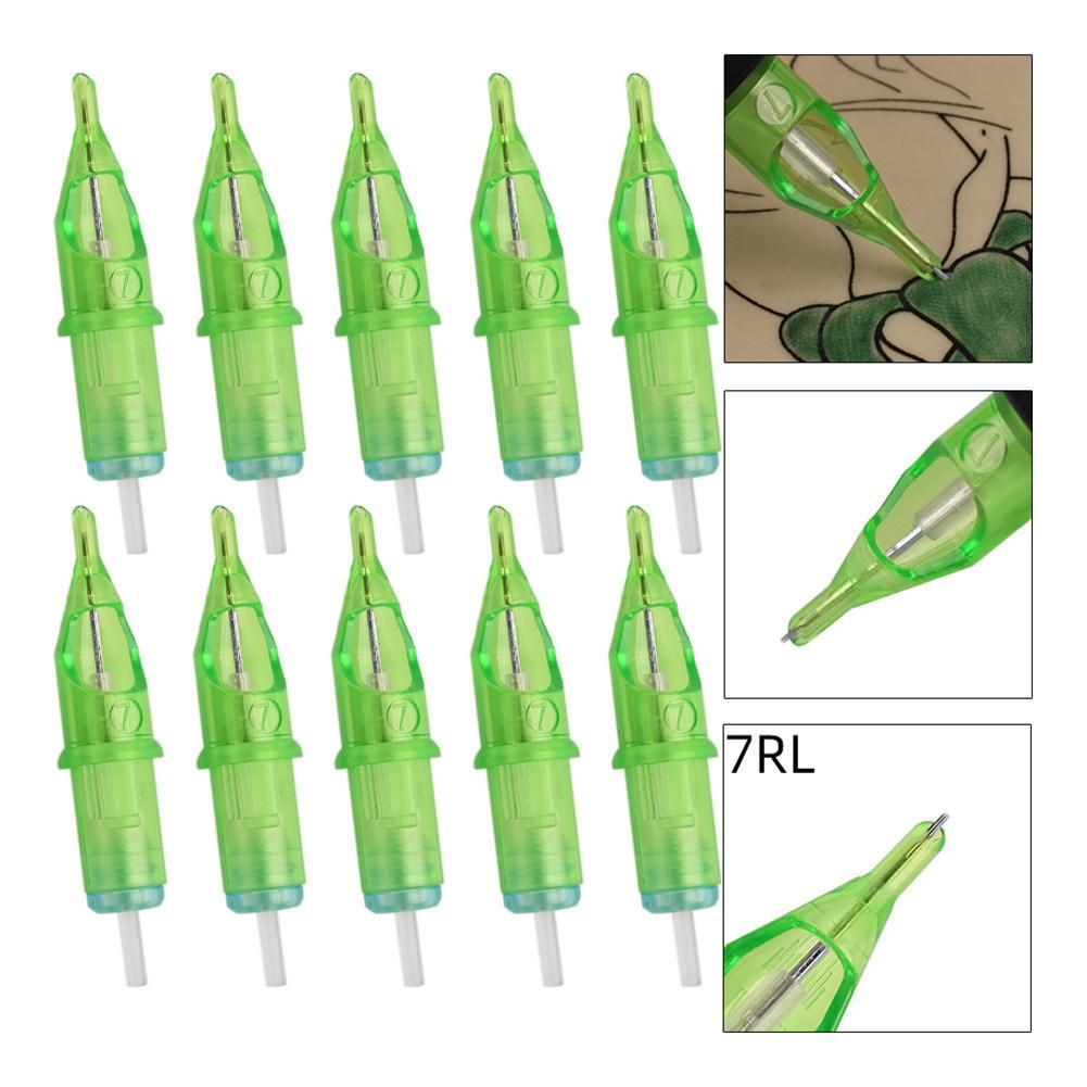 Hobbylane 10pcsset assorted sterilized tattoo needles