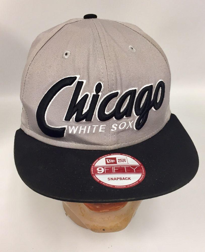 Chicago White Sox Baseball Hat New Era 9 Fifty SnapBack Cap 59053657d21a