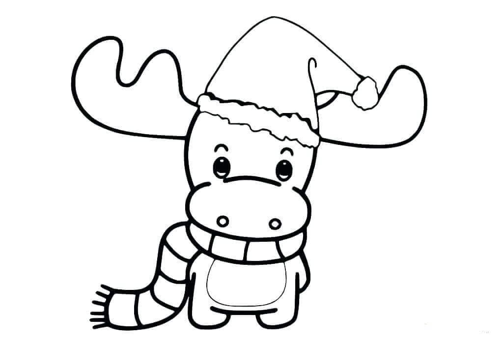 Baby Reindeer Coloring Page Christmas Coloring Books Christmas Coloring Pages Animal Coloring Pages