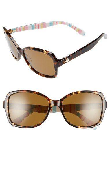 7cc50ce213cd3 KATE SPADE NEW YORK  ayleen  56mm polarized sunglasses.  katespadenewyork