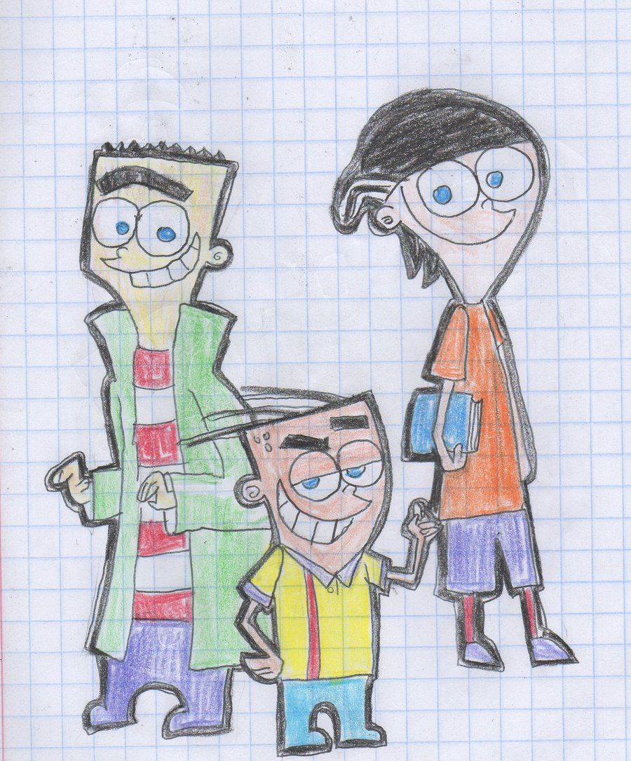 Ed Edd N Eddy Fairly Oddparents Style With Images Funny